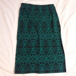 rue21 Spandex Pencil Skirt size LG